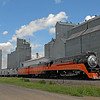Southern Pacific Daylight 4449 at Thompson, North Dakota