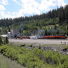 Southern Pacific Daylight 4449 near Stryker, Montana<br /> (exiting 7-mile Flathead Tunnel, second longest in the USA)