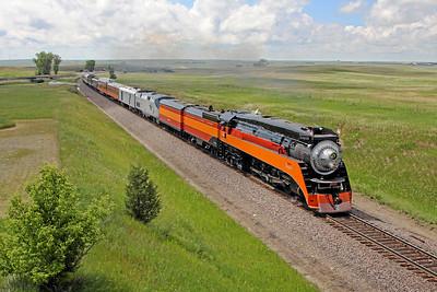 Southern Pacific Daylight 4449 at Epping, North Dakota