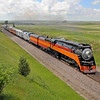 Southern Pacific Daylight 4449 at Epping, North Dakota