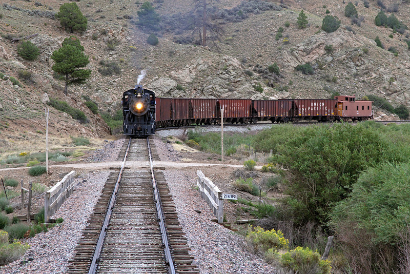 LS&I #18 westbound at Wagon Creek Junction (August 2011)