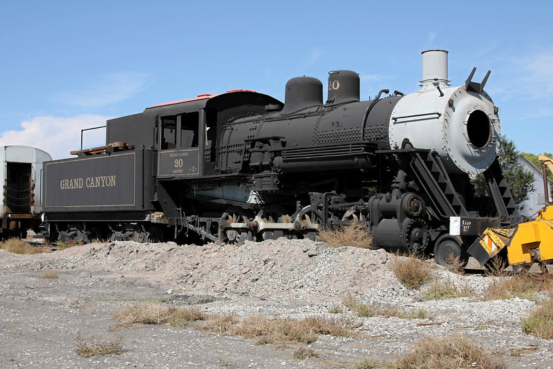 LS&I #20 in September 2008, purchased from the Grand Canyon Railway