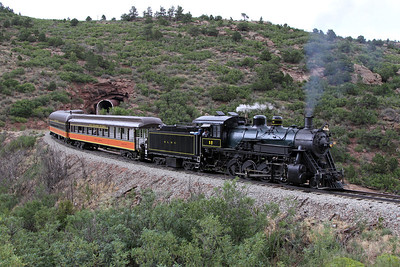 LS&I #18 eastbound exiting Lower Tunnel (August 2011)