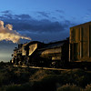 SP 1744 heads east from Alamosa at sunrise (September 2007)