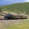 LS&I #18 eastbound entering Mule Shoe Loop (August 2011)
