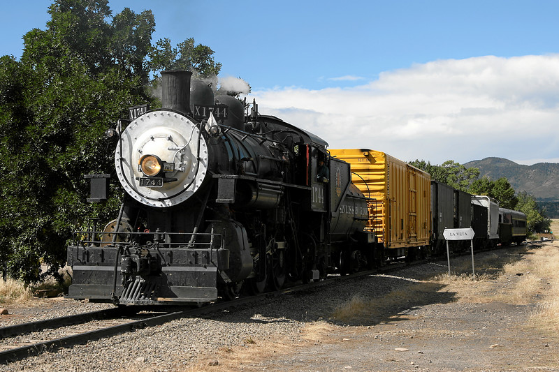 SP 1744 at La Veta (September 2007)