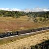 SP 1744 approaches Mule Shoe Loop, just west of Fir (September 2007)