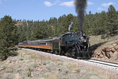 LS&I #18 eastbound at milepost 211.6 (September 2012)