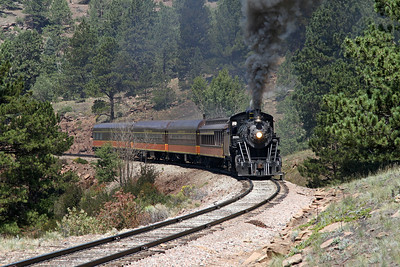 LS&I #18 eastbound at milepost 211.6 (August 2011)
