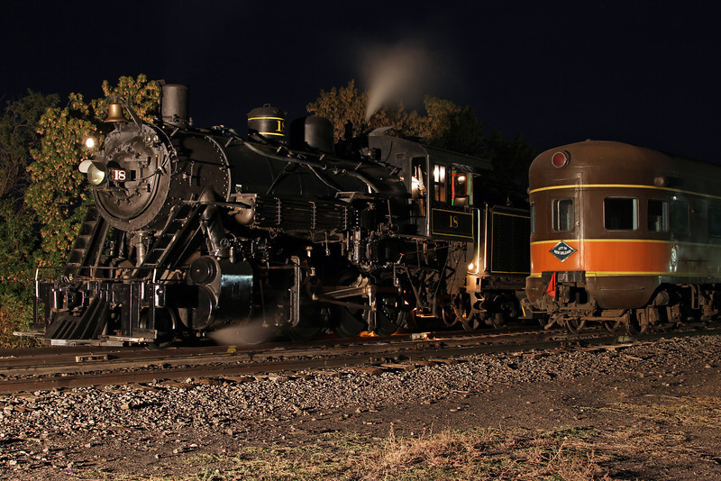 LS&I #18 at the La Veta Depot (September 2012)