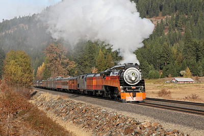 SP Daylight 4449 at Sandpoint, Idaho