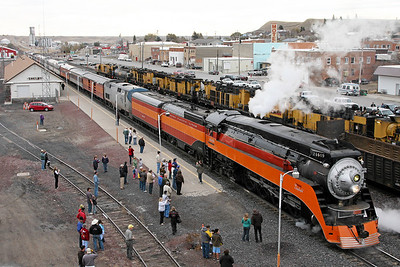 SP Daylight 4449 at Shelby, Montana