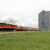 SP Daylight 4449 at Towner, North Dakota
