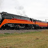 SP Daylight 4449 at Grand Forks, North Dakota