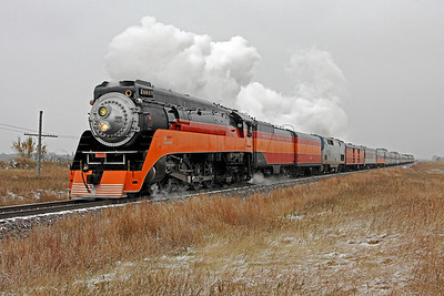 SP Daylight 4449 at Surrey, North Dakota