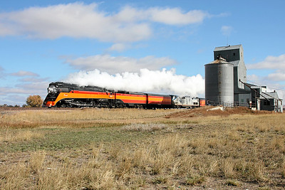 SP Daylight 4449 at Frazer, Montana