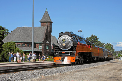 SP Daylight 4449 at Niles, Michigan