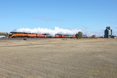 SP Daylight 4449 at Nashua, Montana