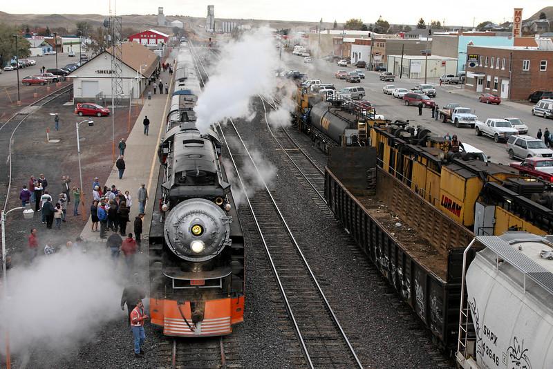 SP Daylight 4449 at Shelby, Montana