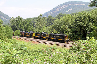 Steamtown excursion at Slateford - June 24, 2010