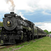 Steamtown excursion at East Stroudsburg - May 19, 2007