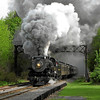 Steamtown excursion at Moscow - May 19, 2007