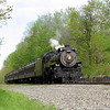 Steamtown excursion at Tobyhanna - May 19, 2007