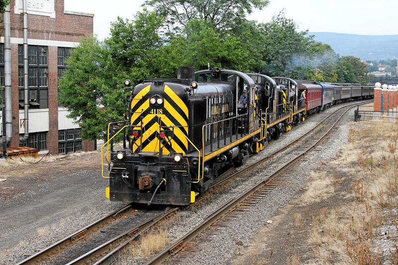 Steamtown excursion at Scranton - June 24, 2010