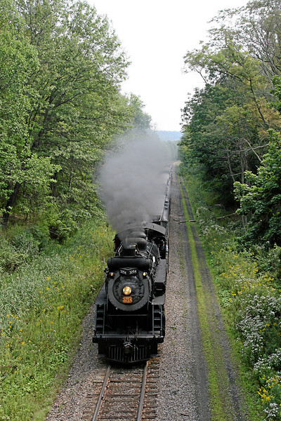 Steamtown excursion at Glenburn - September 9, 2007
