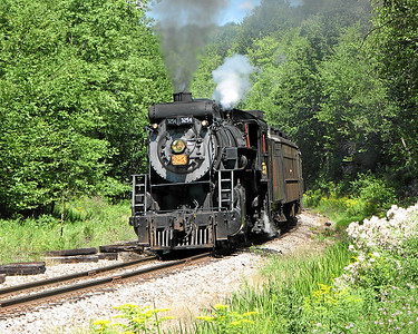 Steamtown excursion at Lehigh (Gouldsboro) - August 12, 2006