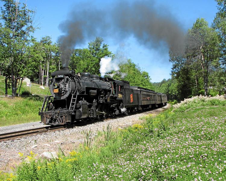 Steamtown excursion at Lehigh (Gouldsboro) - August 12, 2006