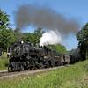 Steamtown excursion at Lehigh (Gouldsboro) - June 30, 2007
