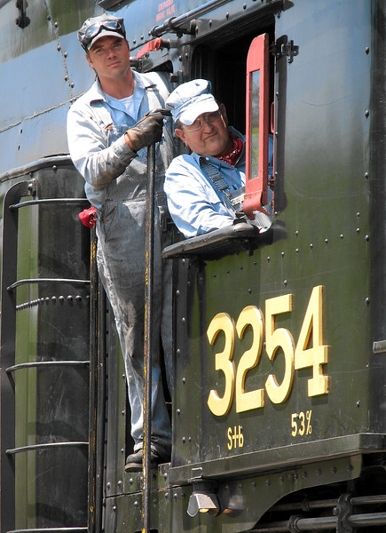 Steamtown excursion at Tobyhanna - May 28, 2006