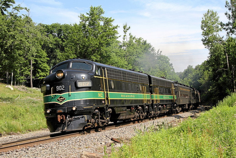 Steamtown excursion at Lehigh (Gouldsboro) - June 26, 2010