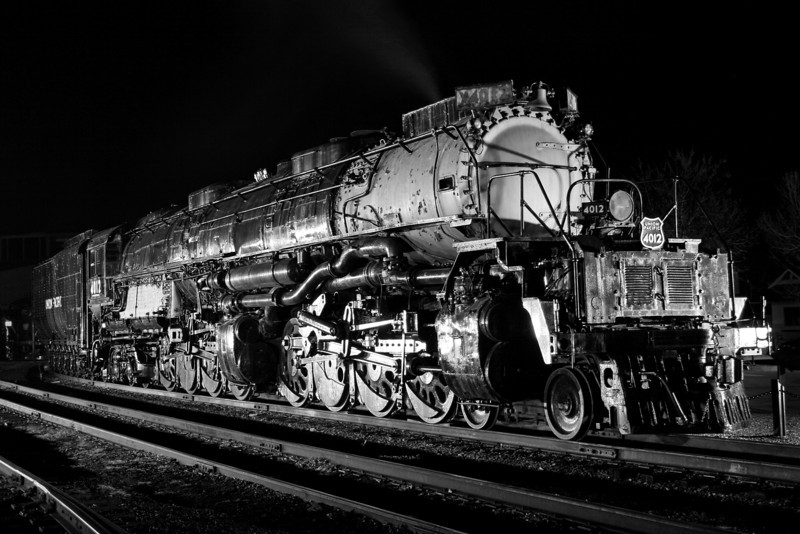 Union Pacific Big Boy #4012 at Steamtown - November 3, 2007