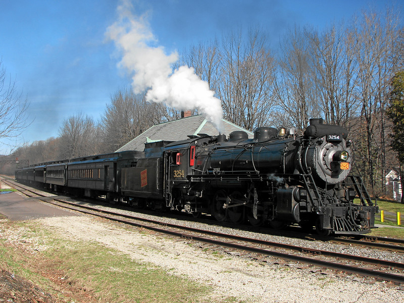 Steamtown excursion at Moscow - November 25, 2006