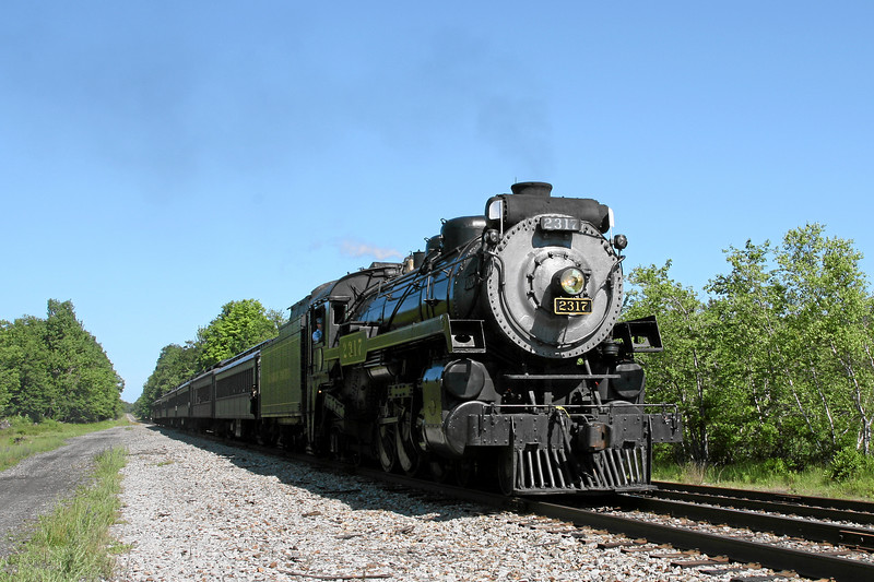 Steamtown excursion at Tobyhanna - June 30, 2007