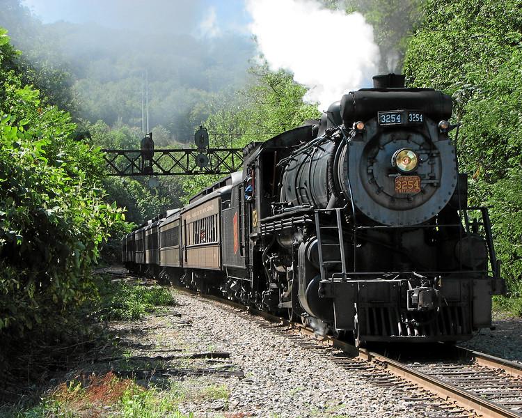 Steamtown excursion at Scranton - August 12, 2006