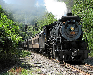 Steamtown excursion at Scranton - August 12, 2006