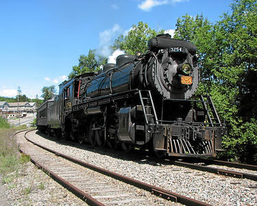 Steamtown excursion at Moscow - August 12, 2006