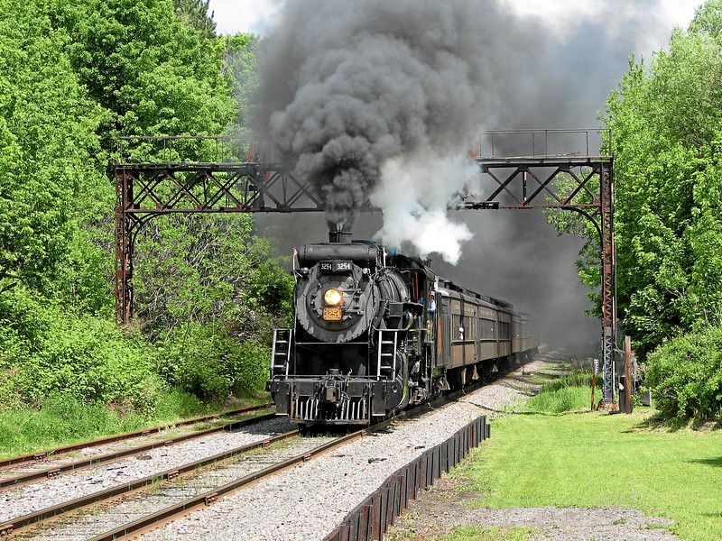 Steamtown excursion at Moscow - May 28, 2006