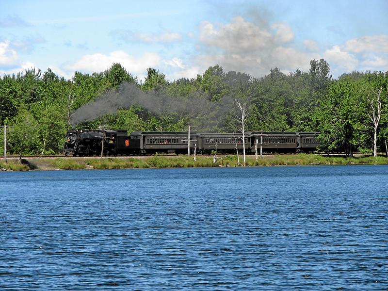 Steamtown excursion at Gouldsboro - August 12, 2006