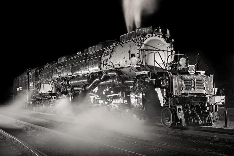 Union Pacific Big Boy #4012 at Steamtown - November 3, 2007