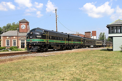Steamtown excursion at East Stroudsburg - June 26, 2010