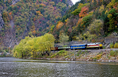 Steamtown excursion at Delaware Water Gap - November 3, 2007