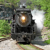 Steamtown excursion at Nay Aug Tunnel (Scranton) - May 28, 2006