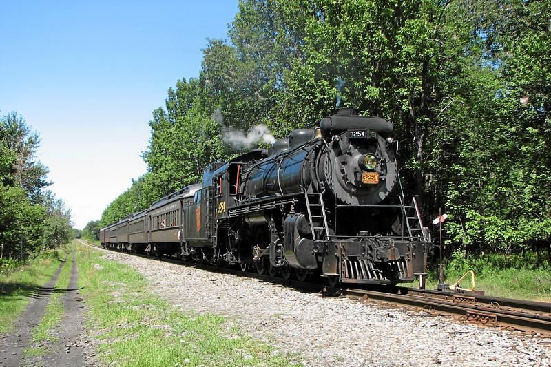Steamtown excursion at Tobyhanna - August 12, 2006