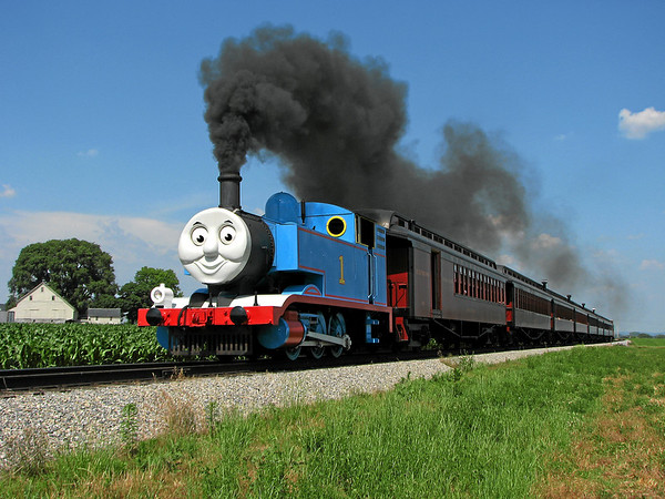 Thomas the Tank Engine at Strasburg RR (PA)