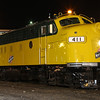 CNW F7A #411 at Rock Island, Illinois
