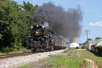 Nickel Plate 765 at Sheffield, Illinois